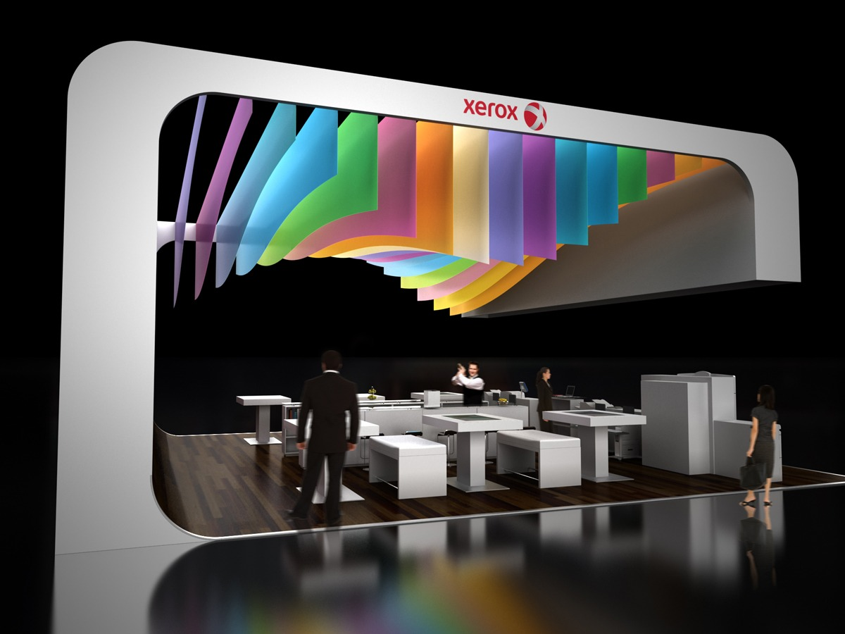 messestand visualisierung render vision. Black Bedroom Furniture Sets. Home Design Ideas