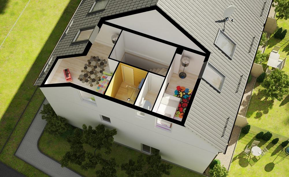 3d grundriss render vision. Black Bedroom Furniture Sets. Home Design Ideas