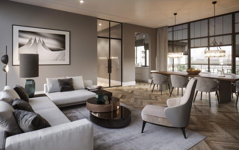 Wohnung inneneinrichtung visualisierung render vision for Wohnungen inneneinrichtung