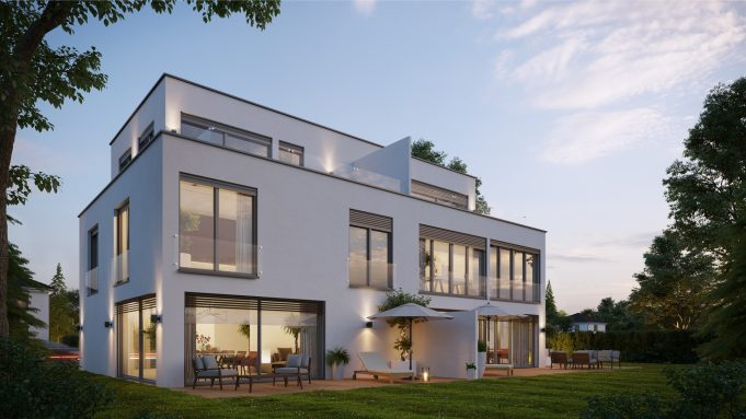 Architektur Visualisiertes Haus