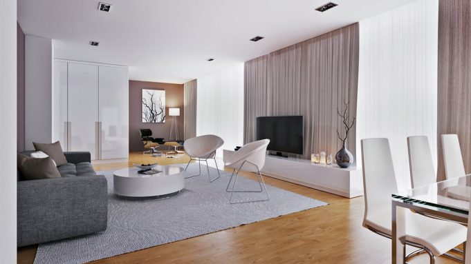 Penthouse 3D visualisierung