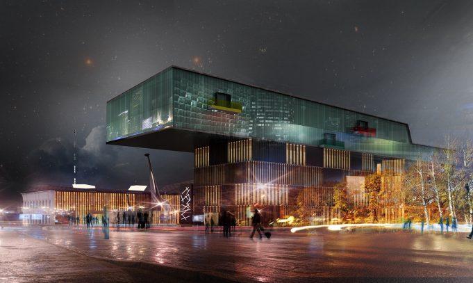 Einkaufszentrum Visualisierung - Architekten Visualisierung
