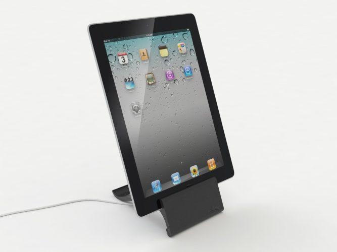 iPad-Ständer schwarz 2