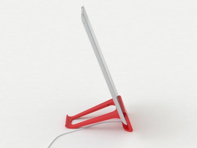iPad-Ständer rot 2