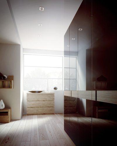 Schlafzimmer Visualisierung 3D