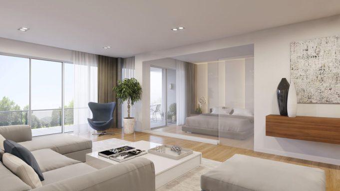 Wohnung Interieuer 3D Visualisierung