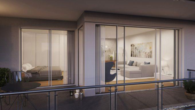 Wohnung Interior 3D Visualisierung