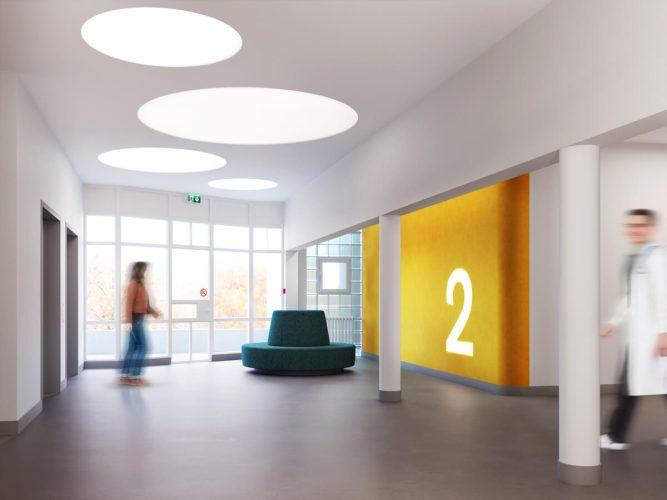 3D Visualisierung Begegnung zone