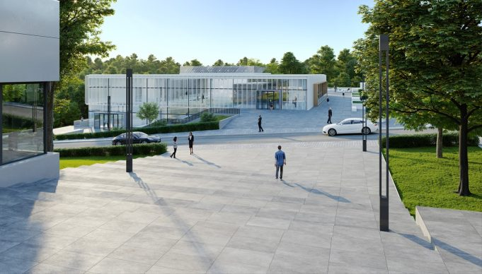 Architekturvisualisierung Frankfurt - ebm heidelberg