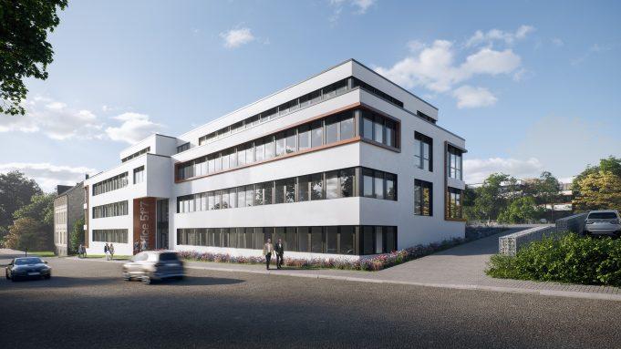 Architekturvisualisierung Büro