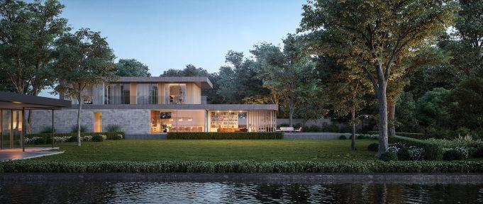 Architekturvisualisierung-Villa-Muenchen