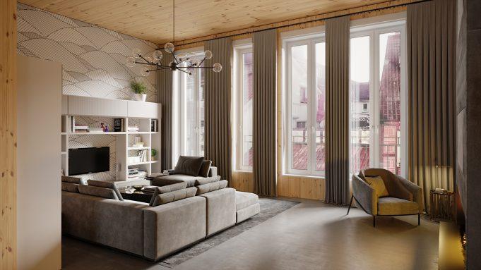Visualisierung von Wohnungen in Hamburg