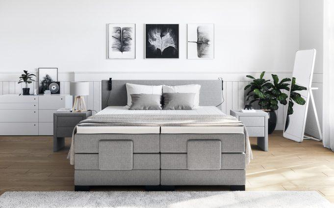 Produktvisualisierungen von Betten