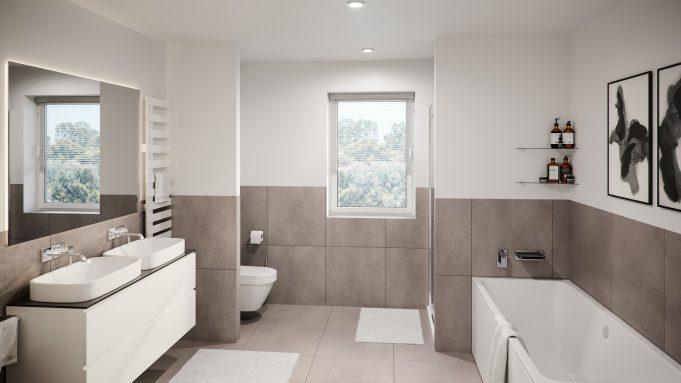 Badezimmer Visualisierungen